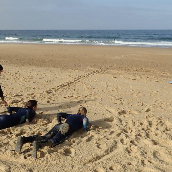 Le club est un excellent moyen d'avoir une progression sur l'année et un surf assuré chaque semaine!