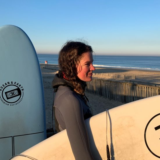 The lessons will be customized to help you with your surf project