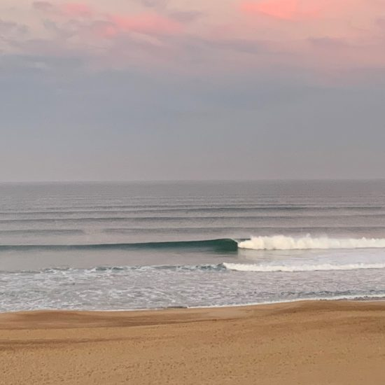 3 feet perfect at sunrise, it's worth getting up early!