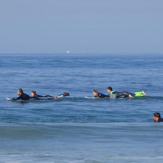 la rame représente 80% du surf, je vous aiderai à la construire pour que vous puissiez vous éclater par vous-même