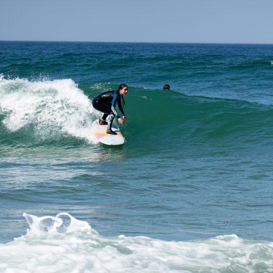 en vous positionnant sur les vagues, vous aurez de nouveaux repères et de nouveaux objectifs
