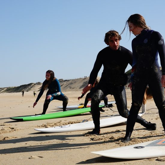 specific advices to each of my students, that is why there are 5 surfers only per group
