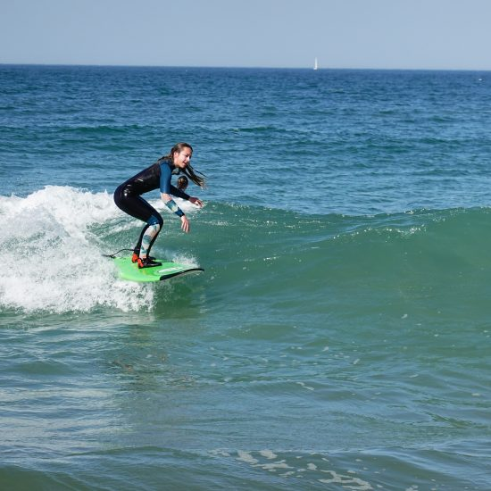 direct application of the training in the waves