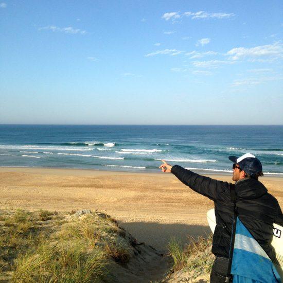 Votre guide vous expliquera en détail ce que vous voyez et vous accompagnera pour réussir votre session et maximiser votre trip surf