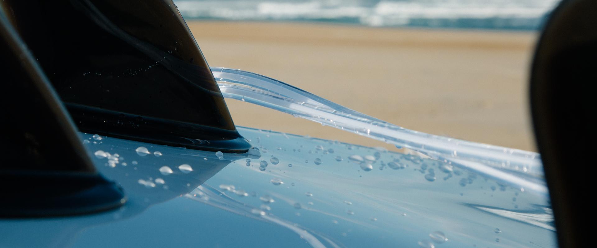 Surf Guides zoom sur une planche de surf à Hossegor Les Landes France