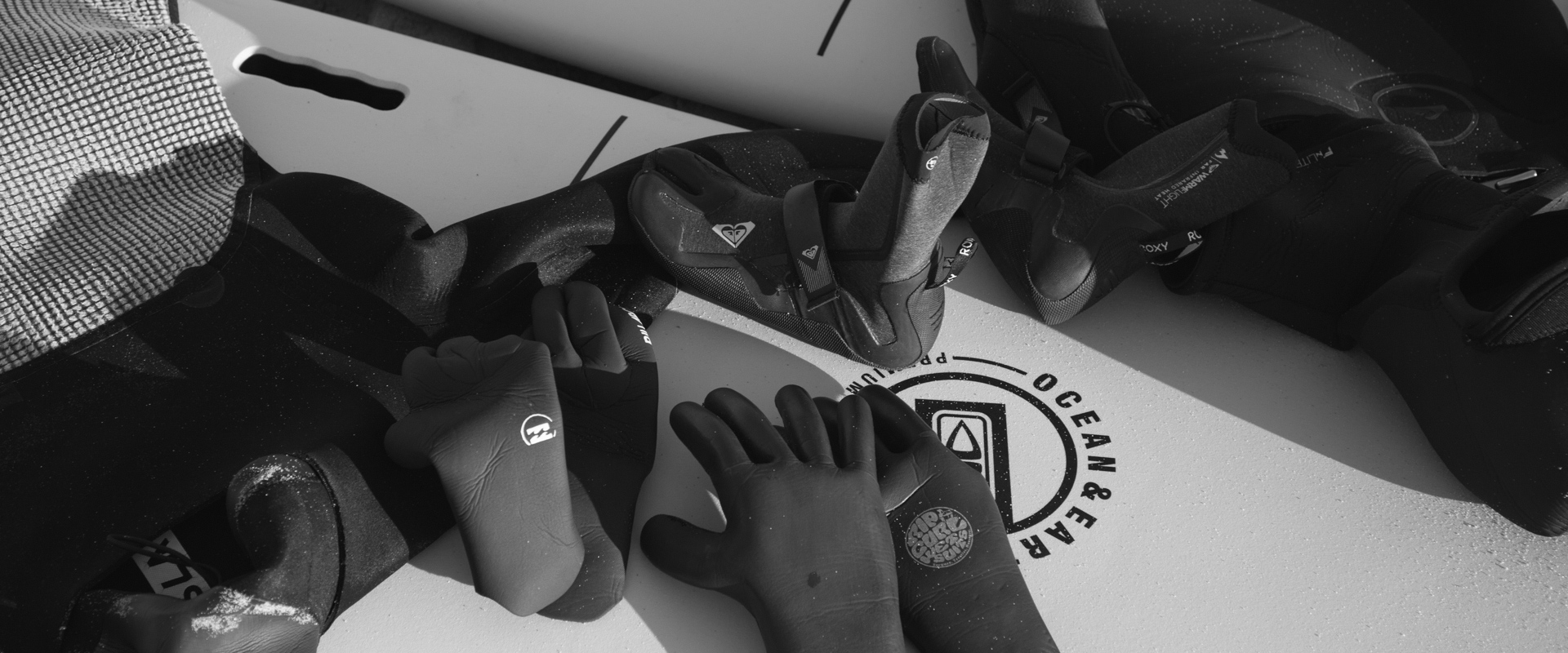 Surf Guides Hossegor - Planches gants leach surf